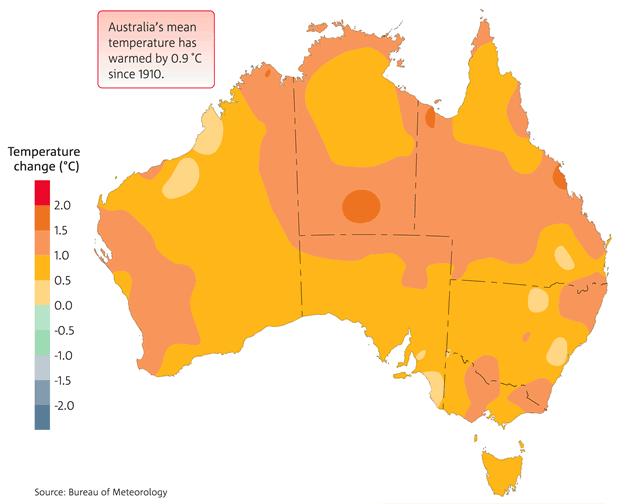 Image: Bureau of Meterology; Australia