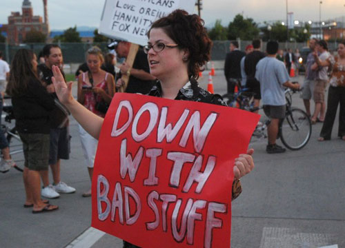Protesting Bad Stuff